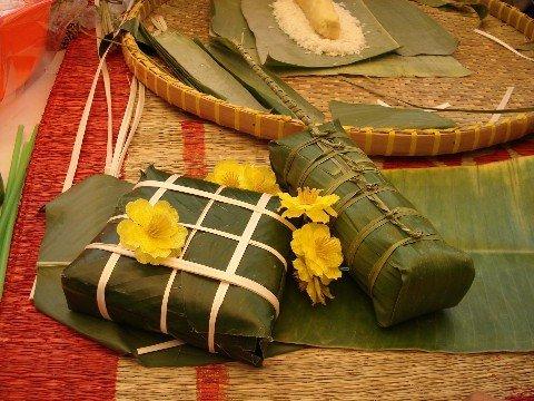 Leaf cake is a popular dish in Vietnam