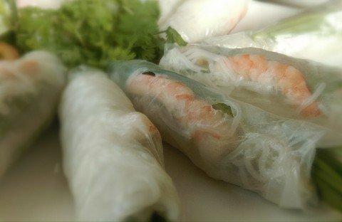 Vietnamese springs rolls