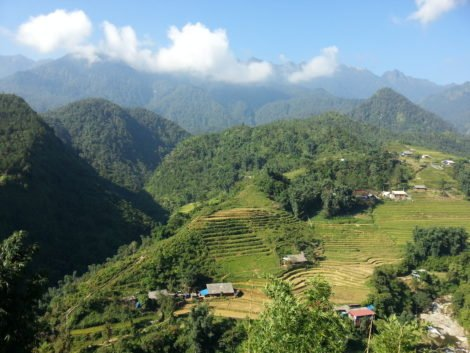 Sapa is famous for its mountains