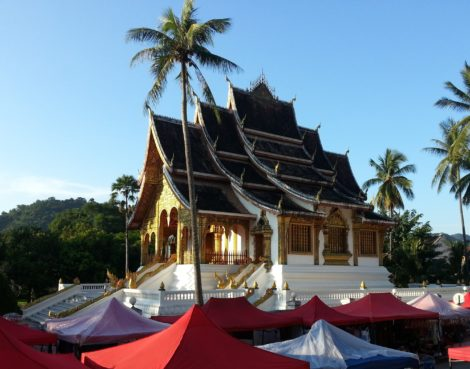 Haw Pha Bang temple in Luang Prabang