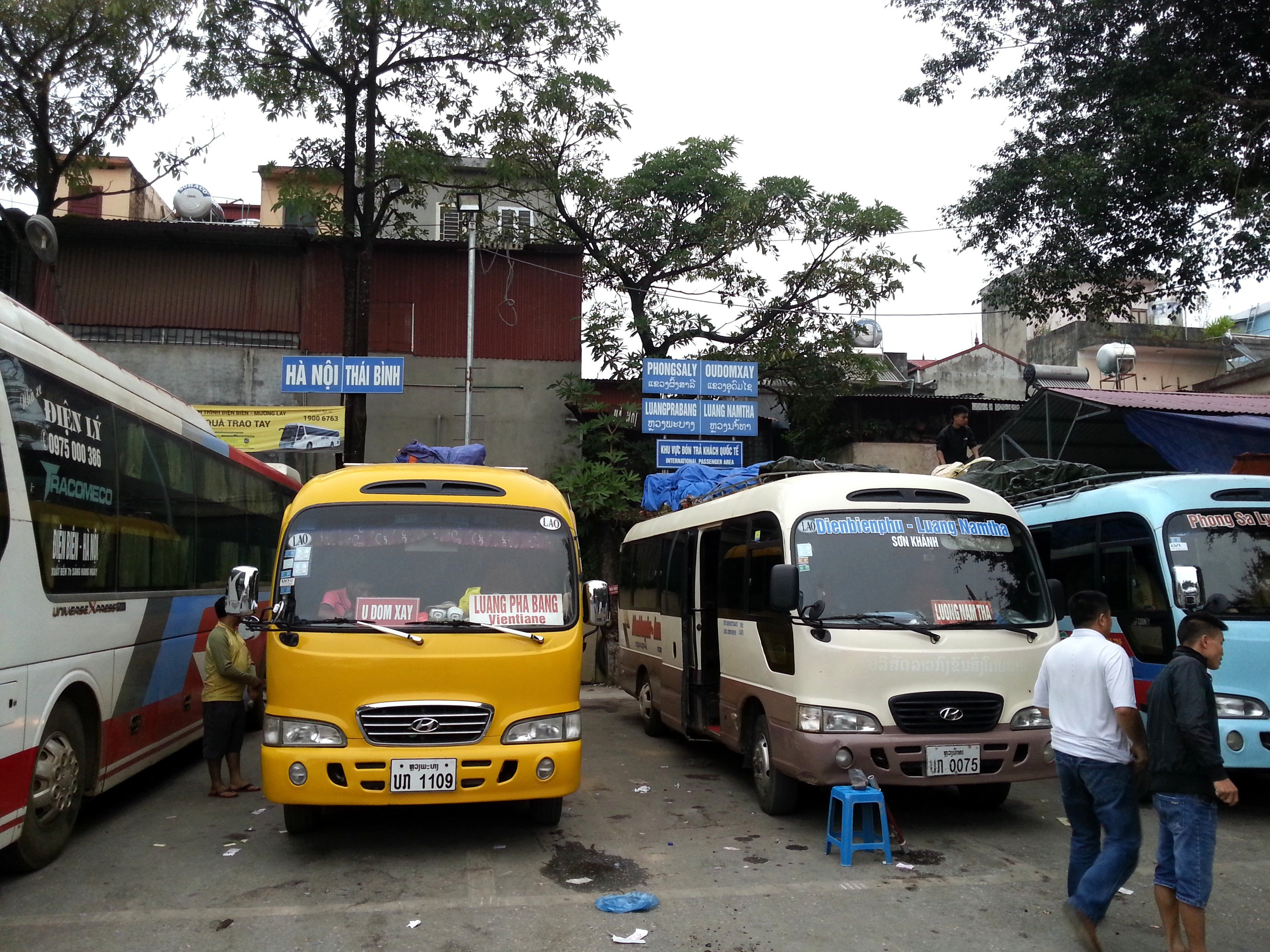 Bus services from Dien Bien Phu Bus Station