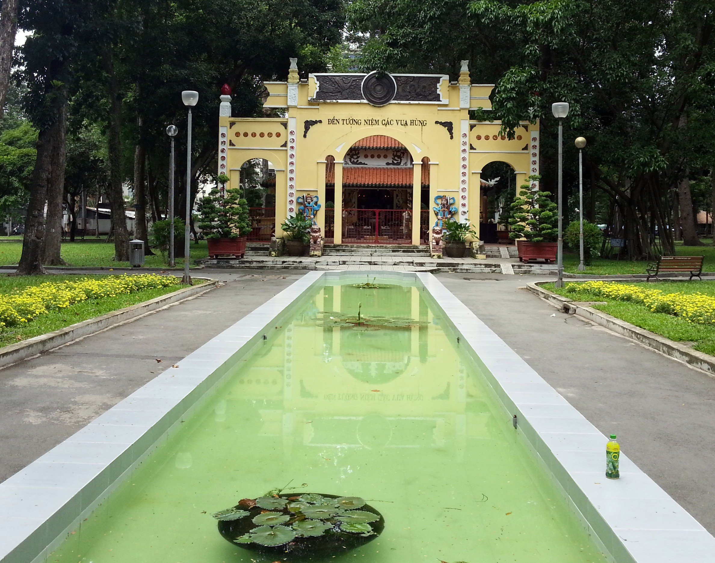 Temple of the Hung Kings in Saigon