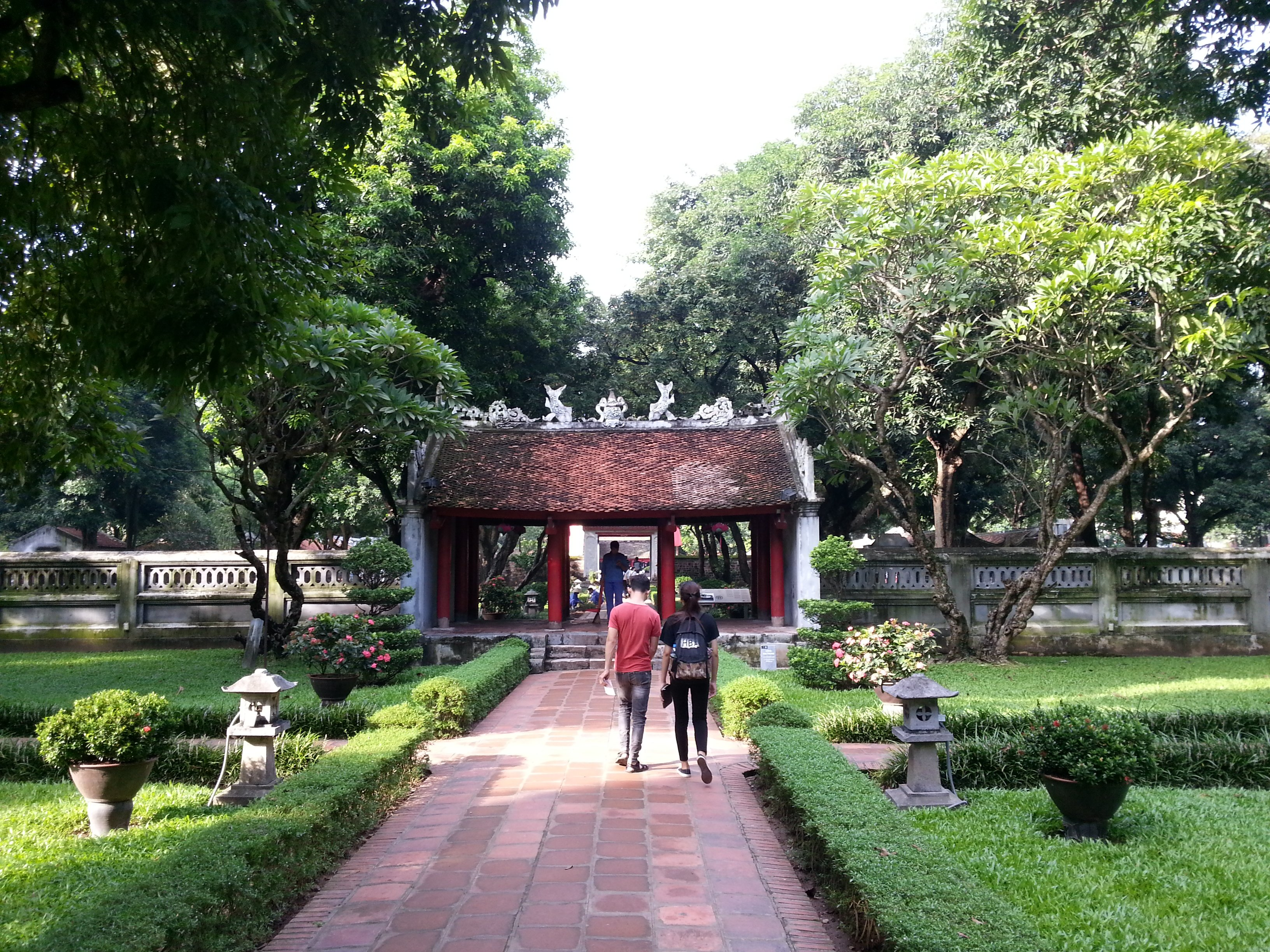 Entrance to the Second Courtyard of The Temple of Literature
