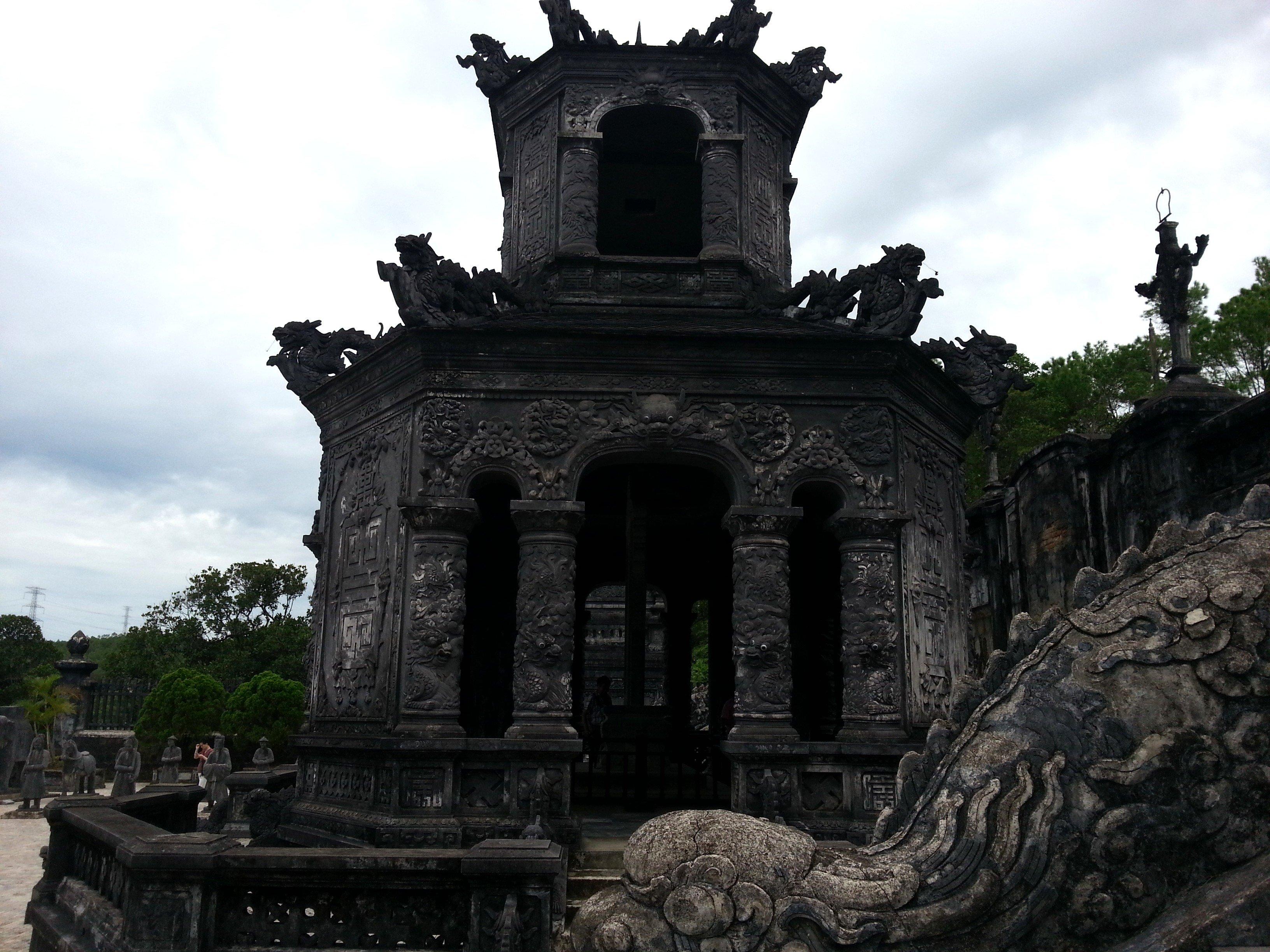 Stele Pavilion at the Tomb of Khai Dinh