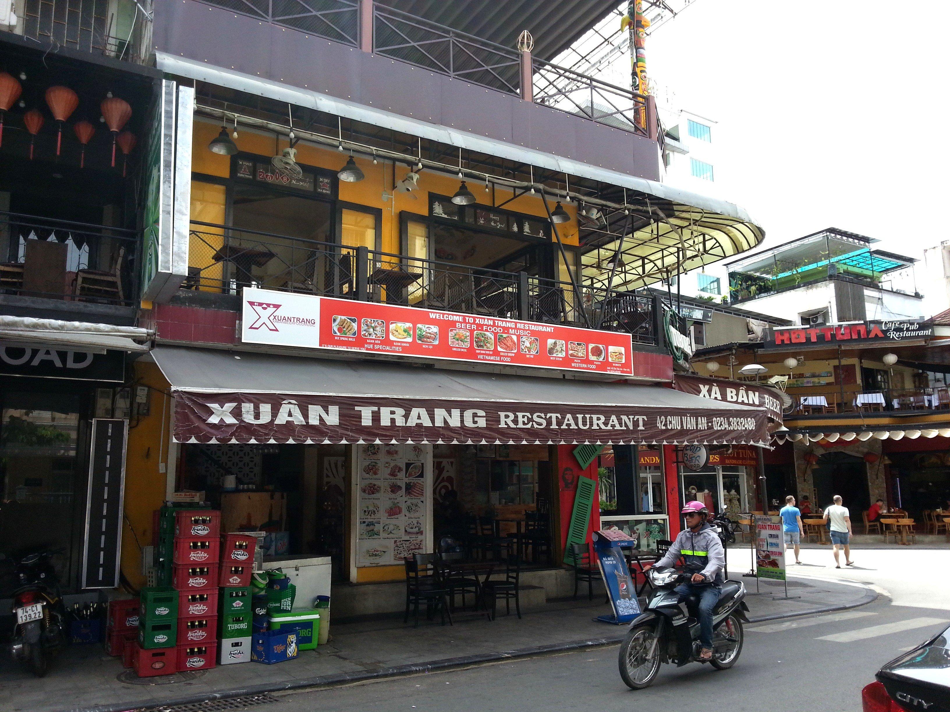 Front of Xuan Trang Restaurant