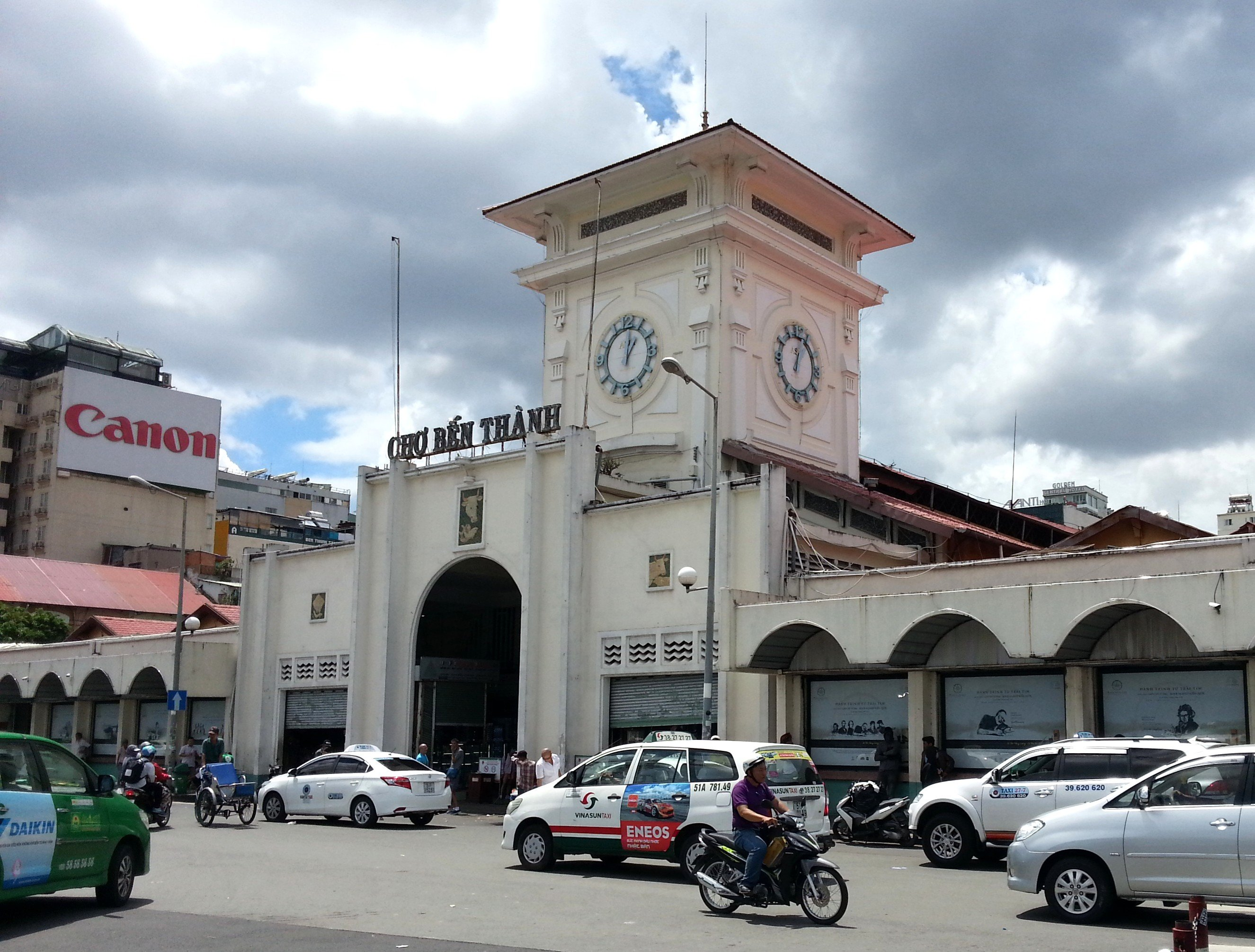 South Gate to Ben Thanh Market
