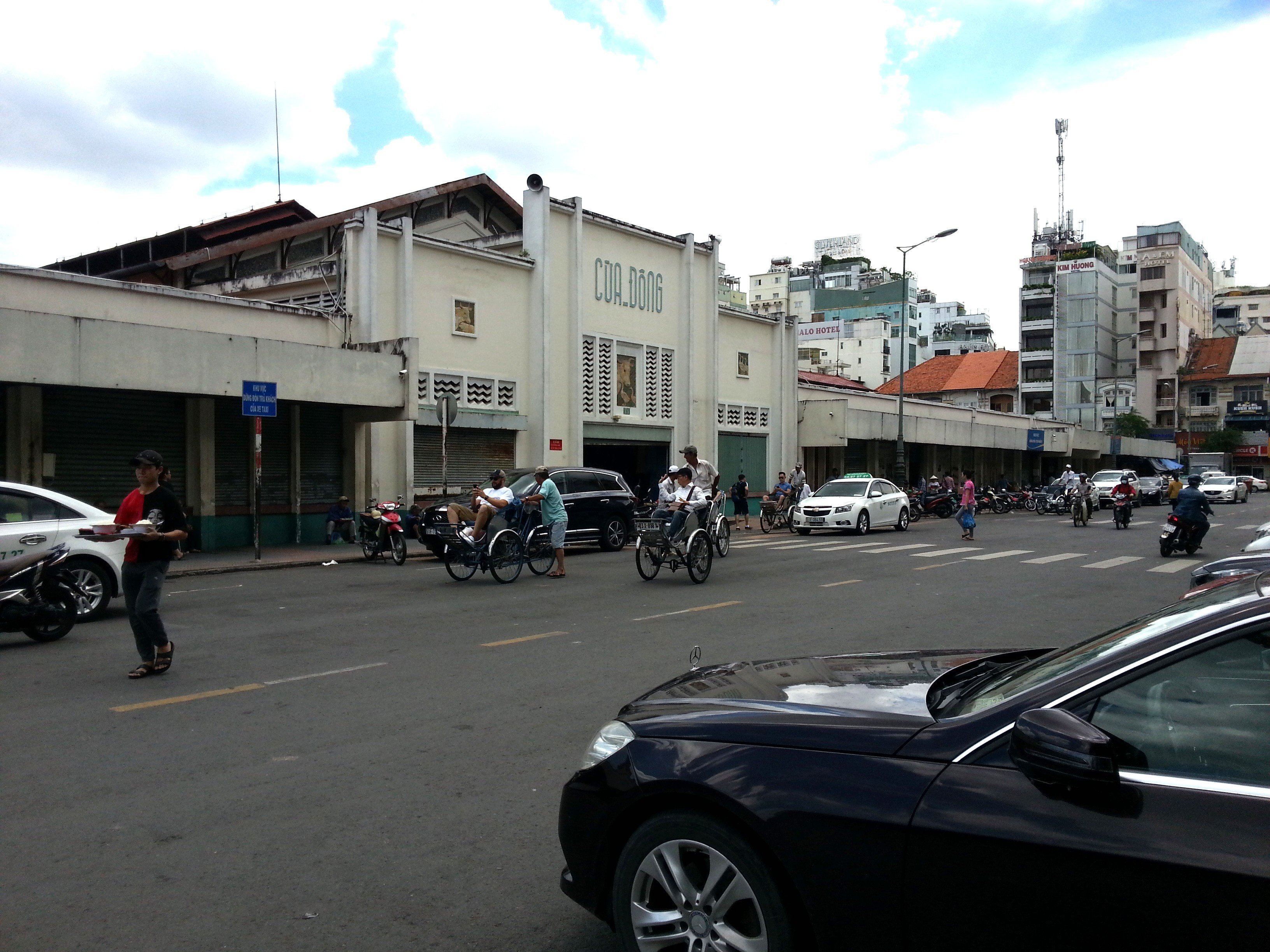 West Gate to Ben Thanh Market