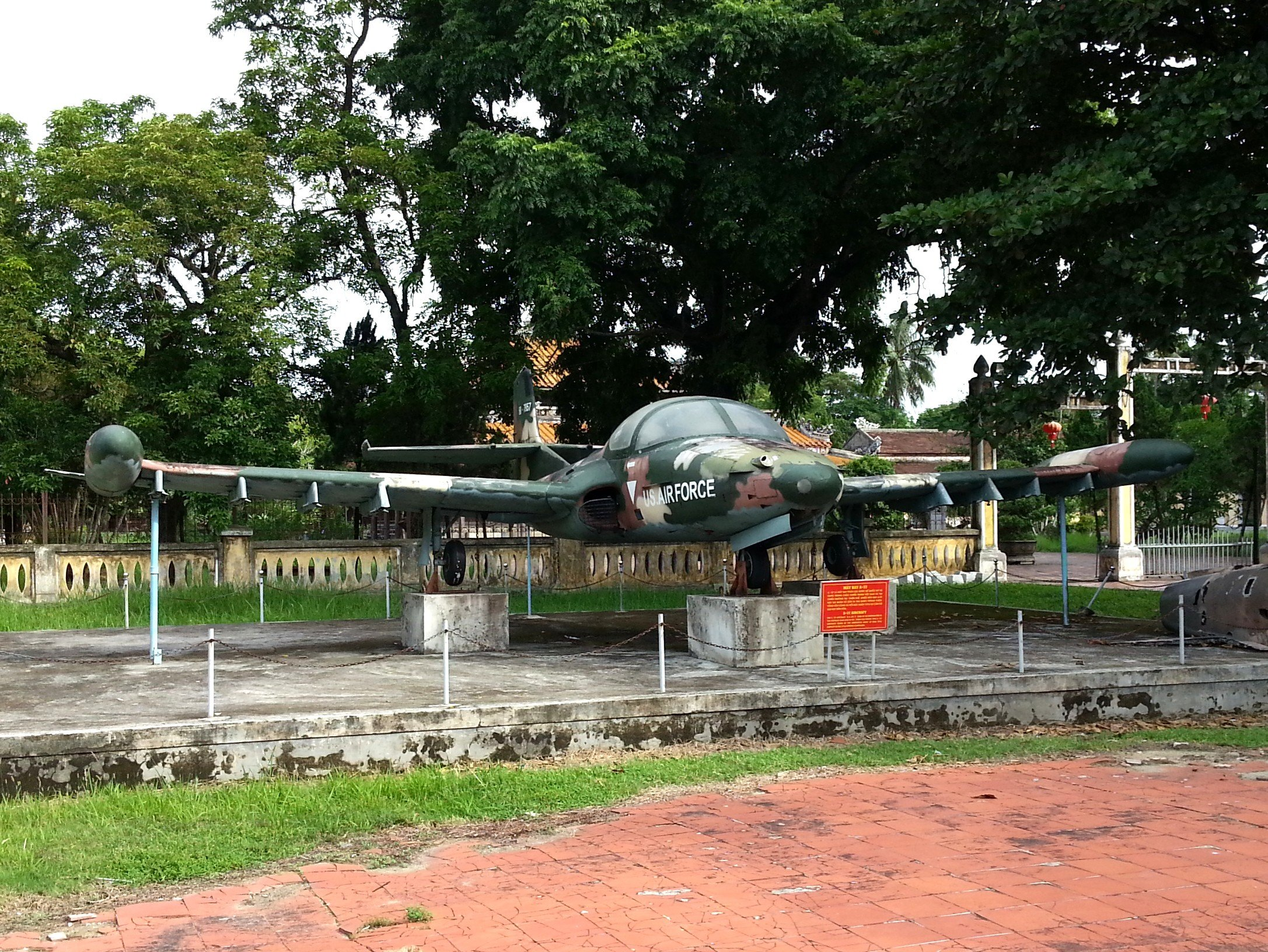 Cessna T-37 Tweet at Hue War Museum