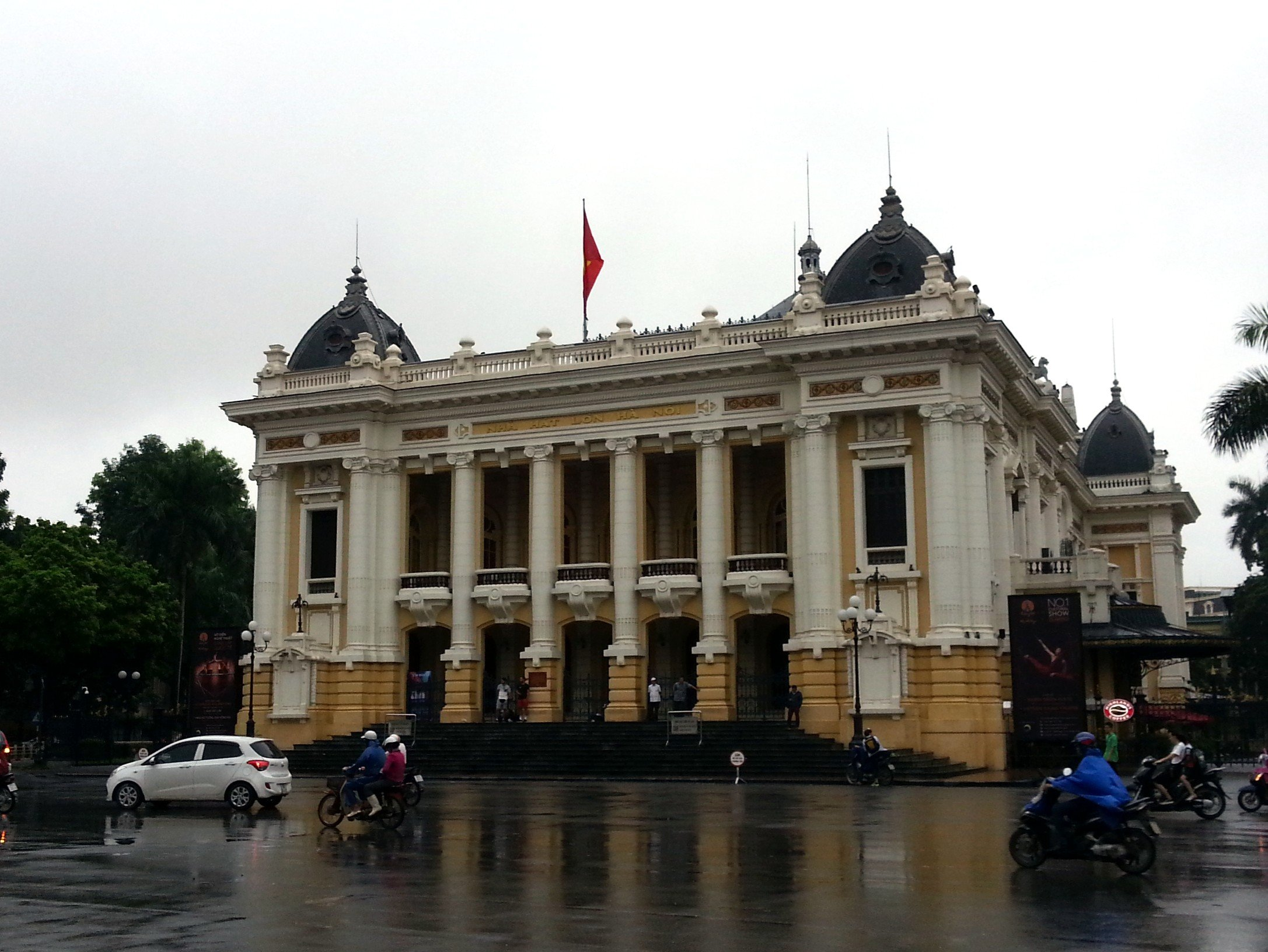 Front of Hanoi Opera House