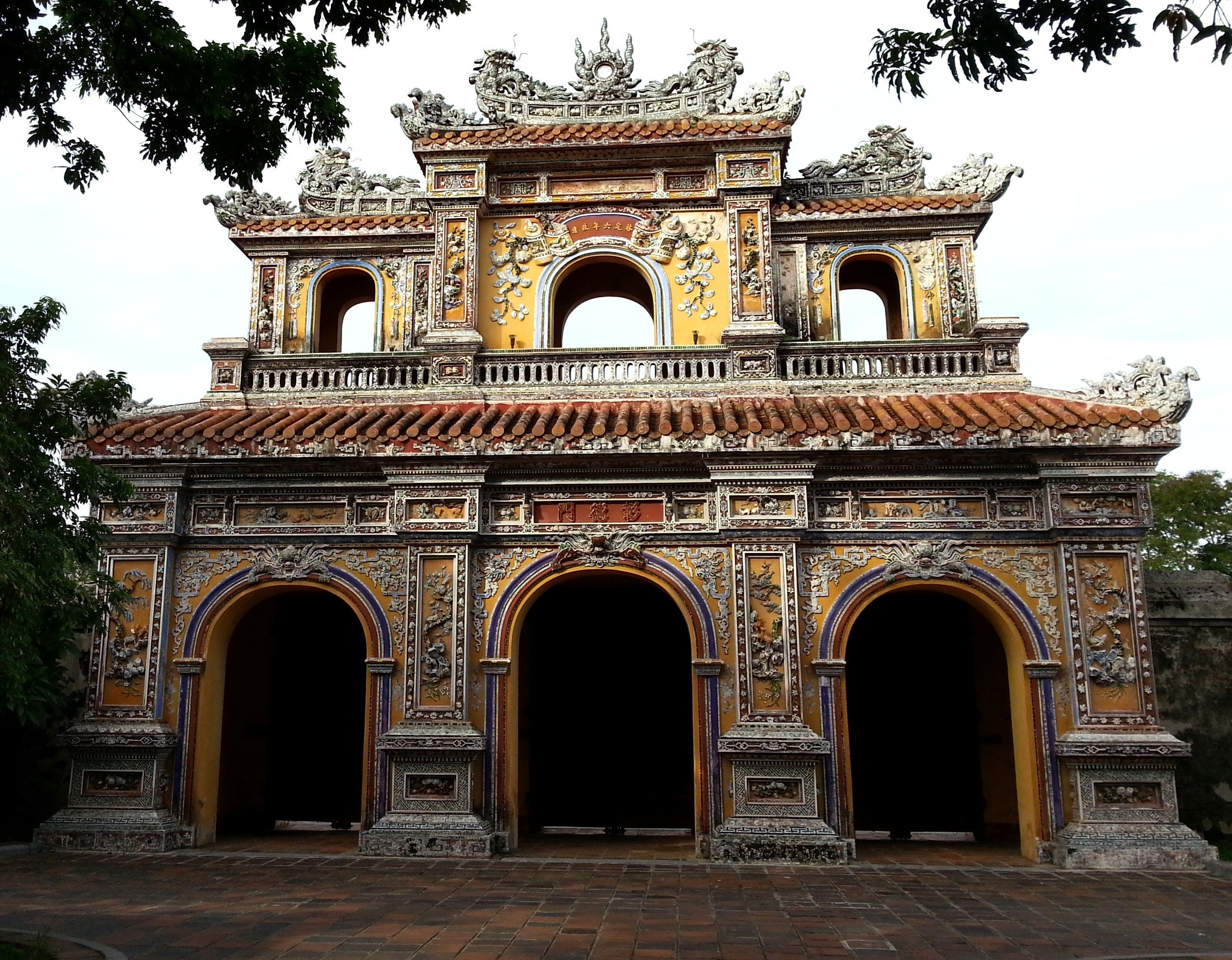 Gate of Manifest Benevolence at the Imperial Citadel
