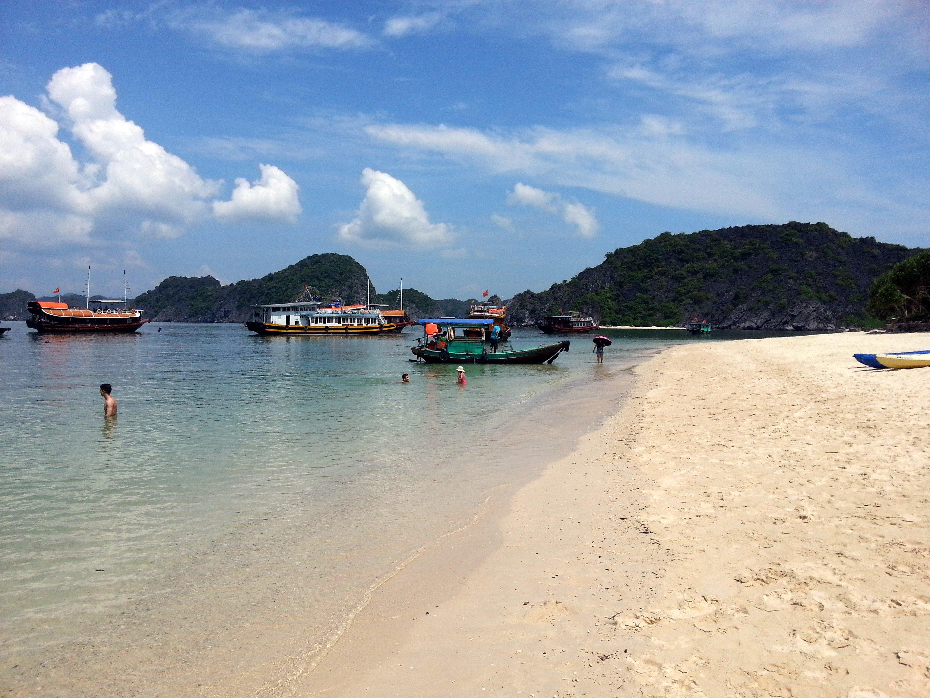 Beach on Monkey Island