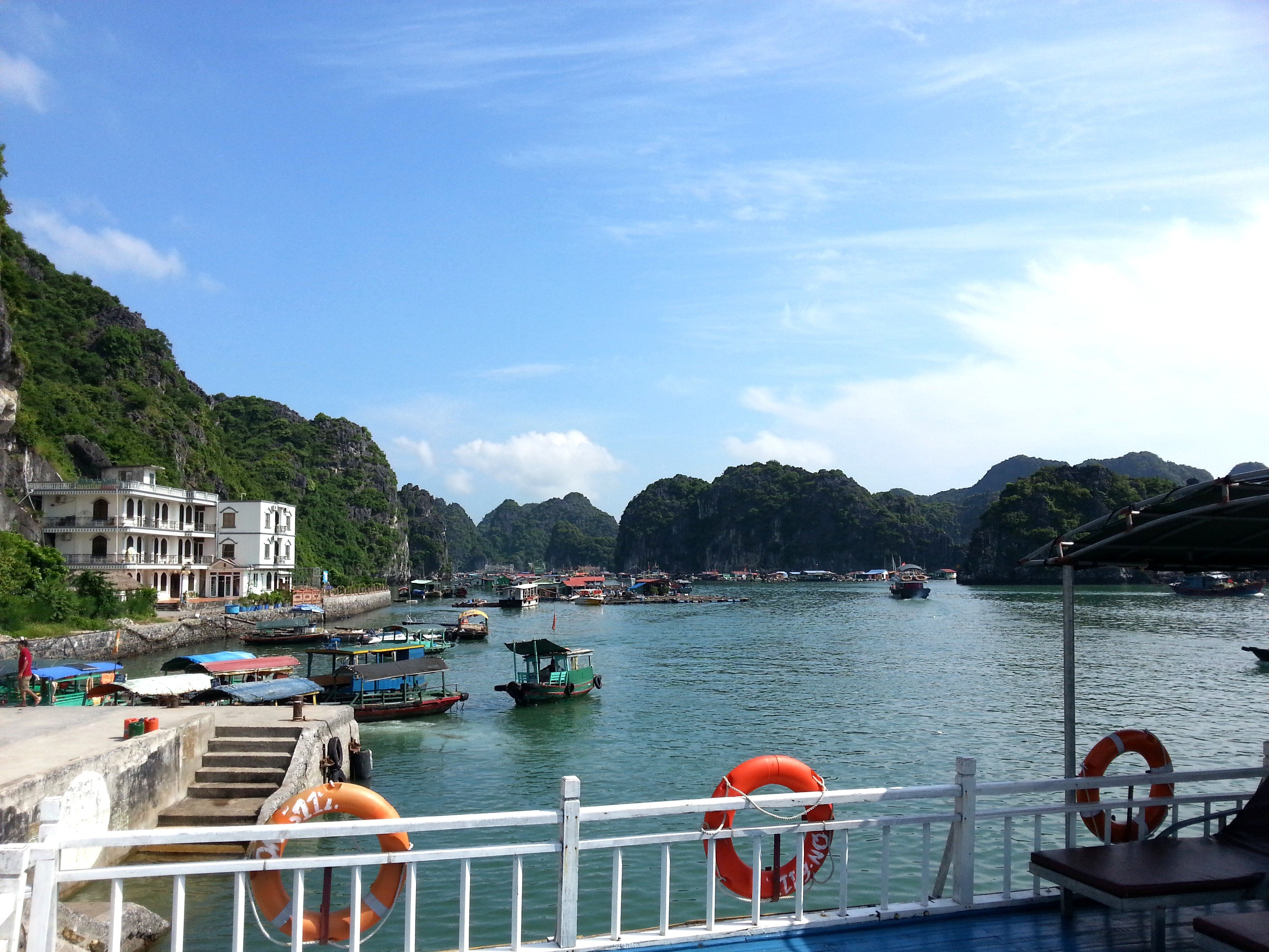 Tours around Lan Ha Bay depart from Ben Beo Harbour